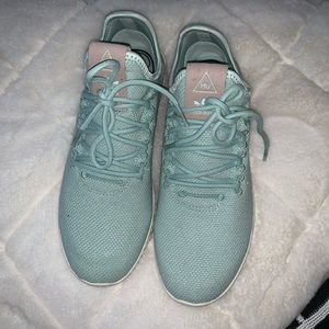 Pharrell Williams Adidas Tennis Shoe in mint/teal